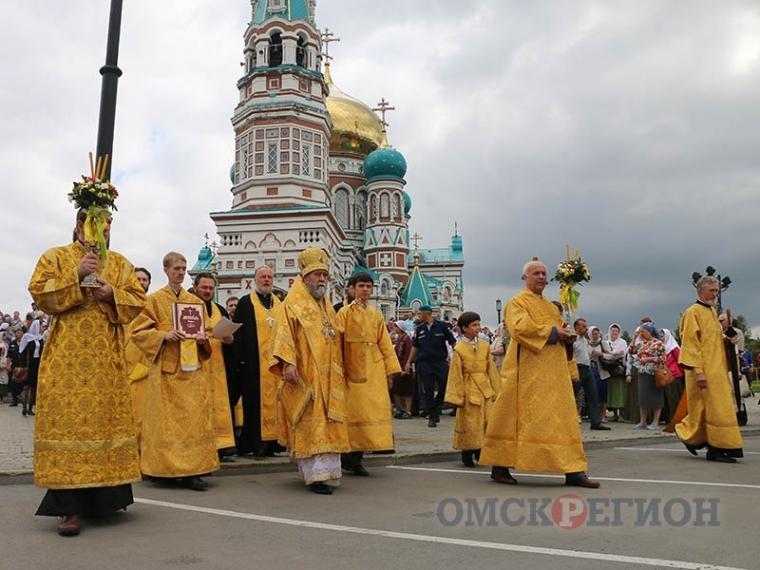 В честь 1030-летия крещения Руси в центре Омска пройдет городской крестный ход
