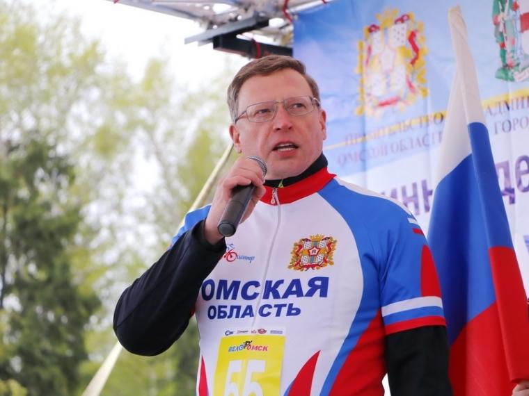 Глава Омской области выйдет на Сибирский международный марафон
