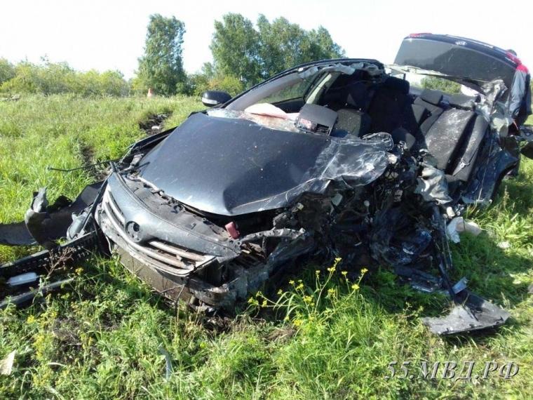 За восемь месяцев в ДТП в Омской области погиб 41 человек