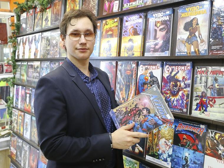 Эра гиков и супергероев. История первого в Омске магазина комиксов #Культура #Омск