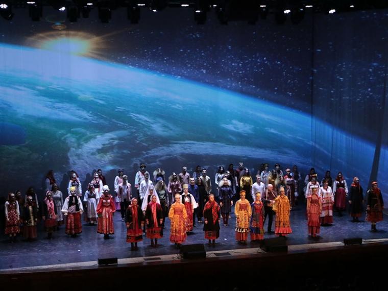 Омичей погрузили в культурный космос #Культура #Омск