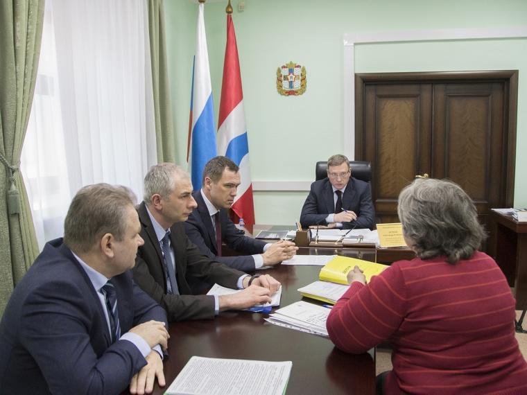 Александр Бурков поручил сделать все для спасения овощехранилища кооператива «Дарина» #Экономика #Омск
