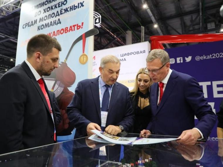 Александр Бурков надеется, что на «Арене Омск» пройдут полуфинальные матчи МЧМ-2023 по хоккею