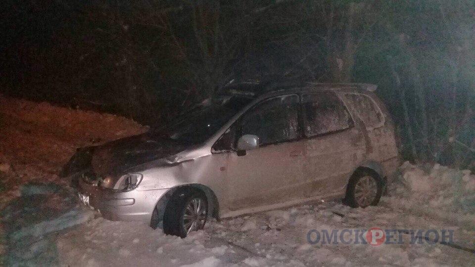 В Омске погиб виновный в аварии водитель иномарки