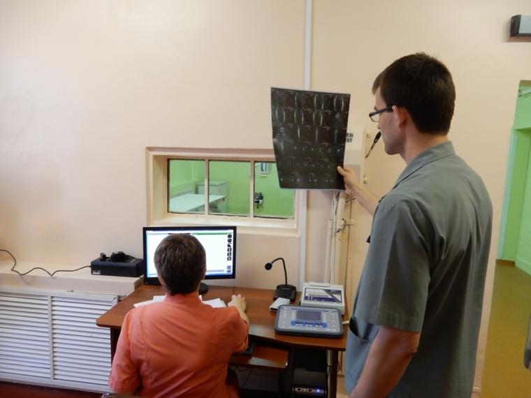 ВБСМП №2 появился новый рентгеновский аппарат