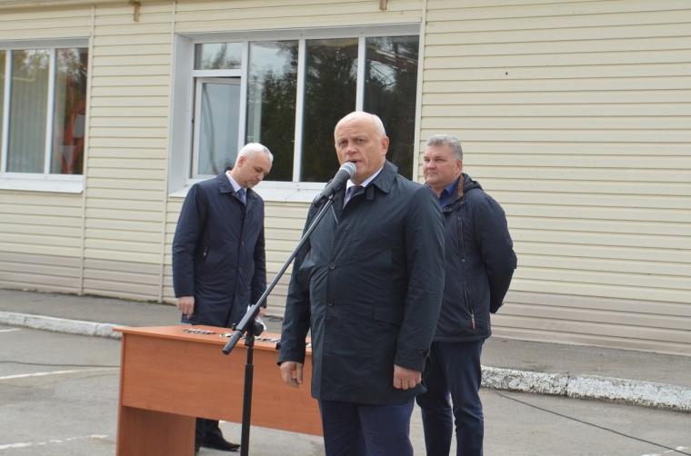 Еще 31 снегоуборочный КАМАЗ передают власти Омска областным ДРСУ