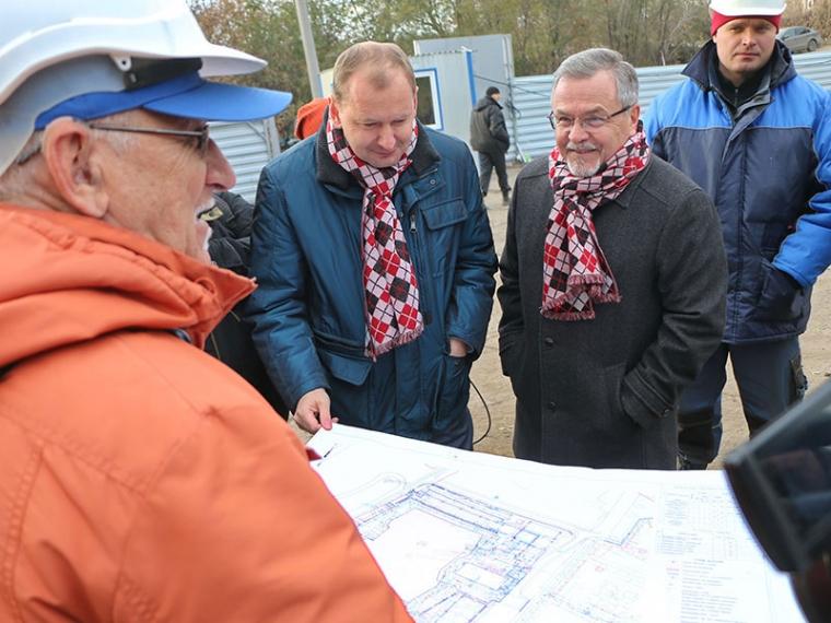 ВОмске началось строительство хоккейной академии «Авангарда»