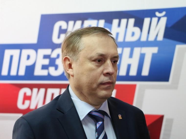 Юрий Тетянников, как гражданин, поддержал выдвижение в президенты России Владимира Путина