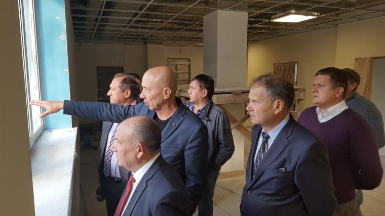 Для реконструкции «Галерки» вОмске ожидают транш из столицы