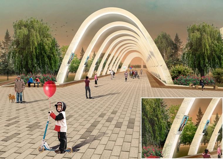 Вмэрии показали, как будет выглядеть благоустроенный Омск