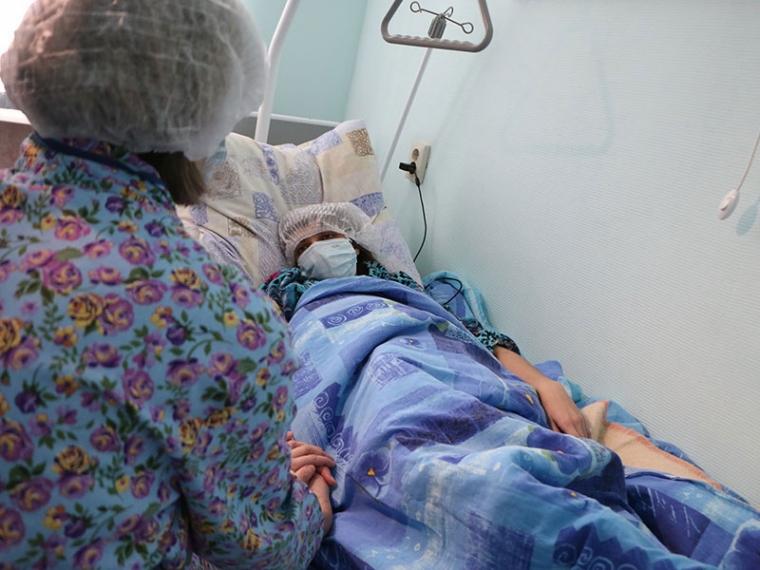 Омские мед. работники впервый раз пересадили человеку печень отживого донора
