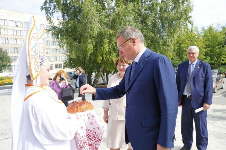 Бурков подсказал студентам ОмГАУ формулу успеха