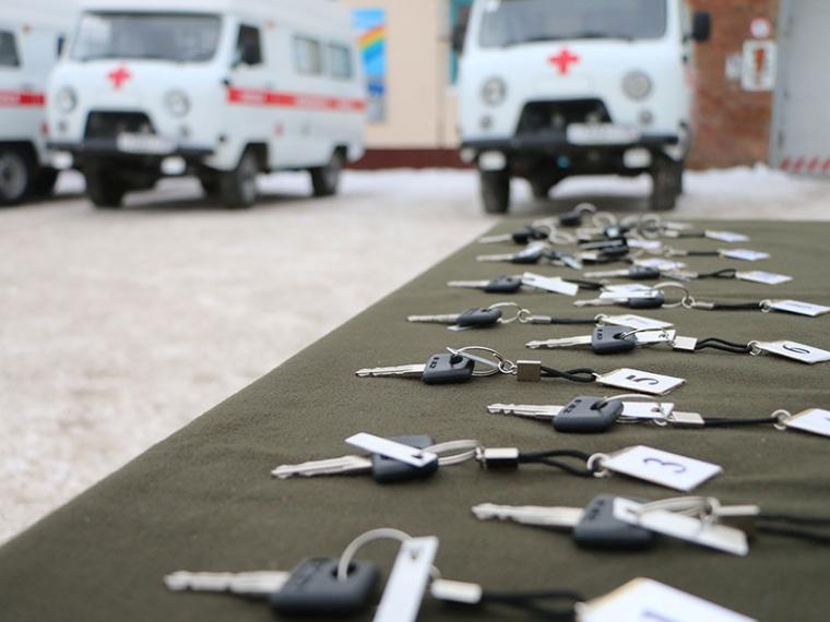 Парк автомобилей омской «скорой» был дополнен 15 машинами