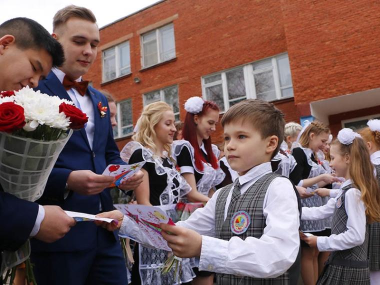 Оксана Фадина посоветовала омским выпускникам не поступаться принципами